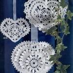 3 Ornamental Heart Crochet Patterns