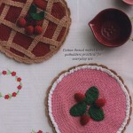 Pie shaped potholders crochet pattern