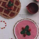 Pie shaped potholders crochet pattern