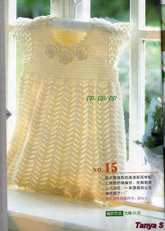 Crochet Pattern For Zig Zag Rug : Zig zag crochet baby dress pattern ? Crochet Kingdom