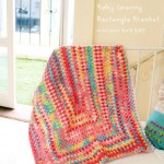 Baby granny rectangle blanket