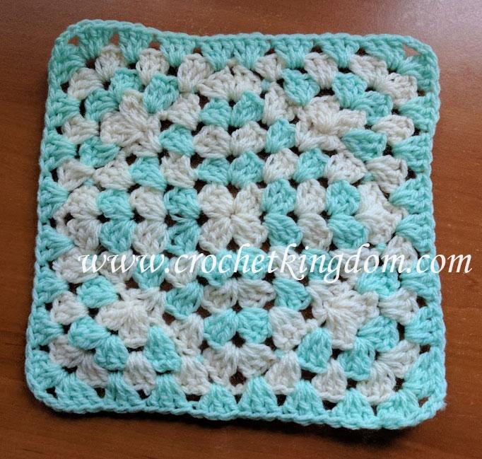 Interesting Granny Square Blanket Tutorial