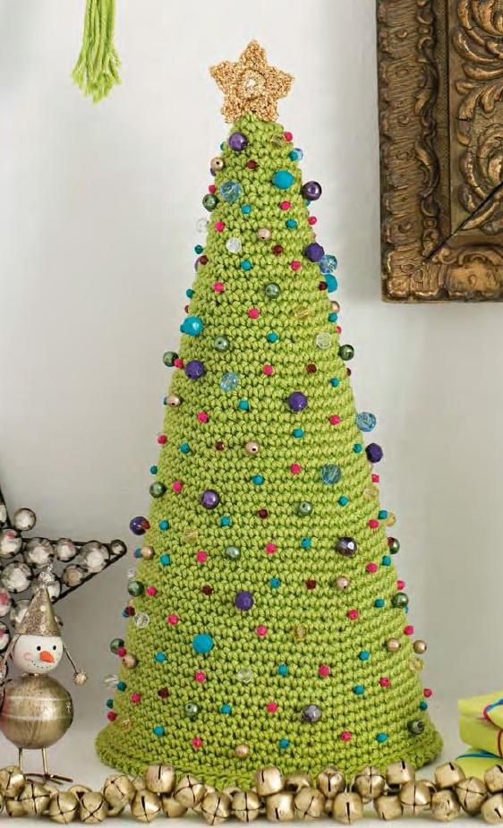 Lovely Christmas Tree Crochet
