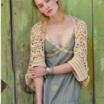 Crochet Mykonos shrug pattern
