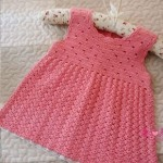 Sleeveless baby Crochet Dress Pattern