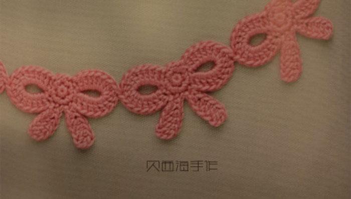 Crochet Bow Motif Archives ⋆ Crochet Kingdom 3 Free