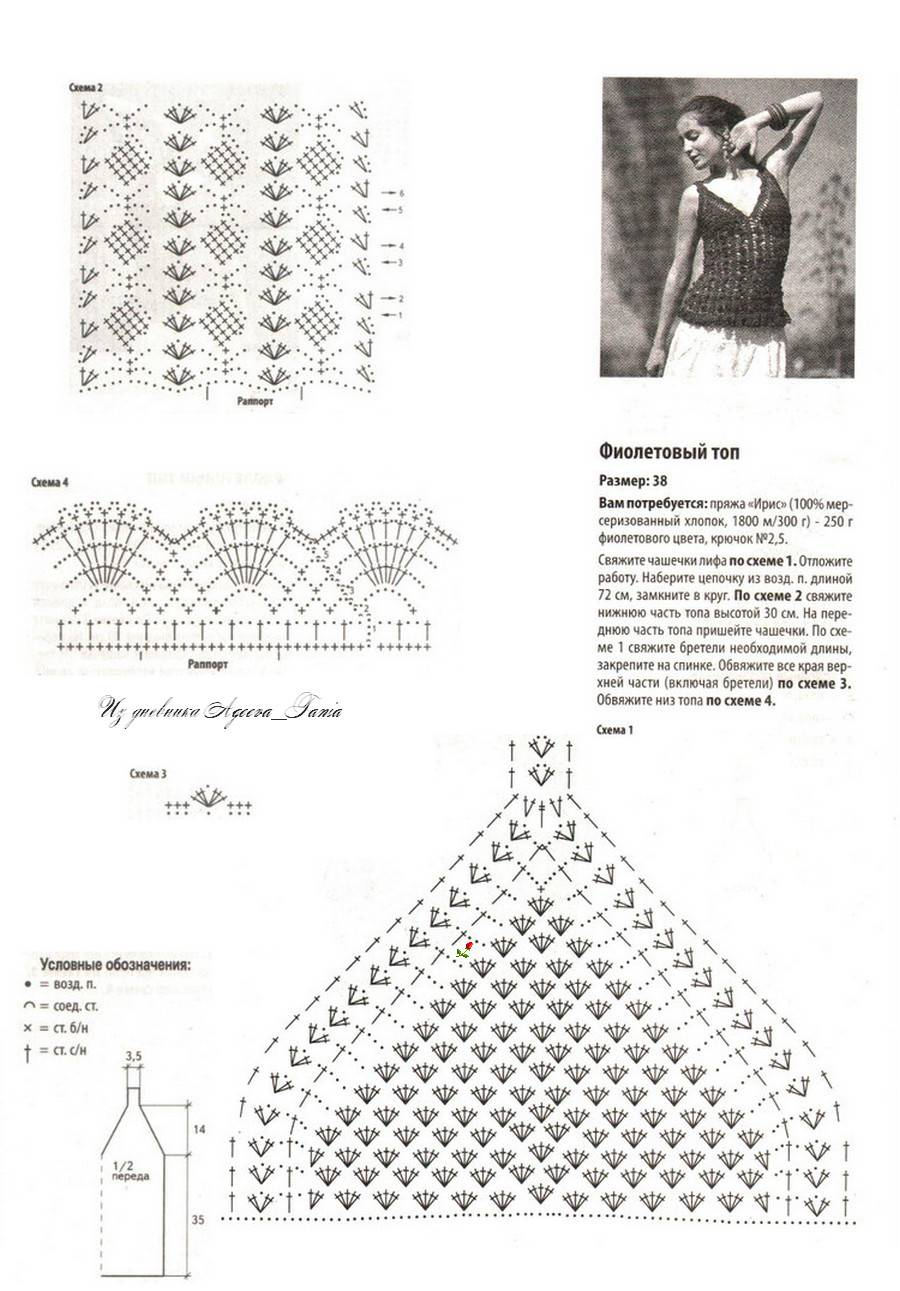 Lace Singlet Crochet Top Pattern ? Crochet Kingdom