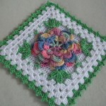Crochet Square Diagram
