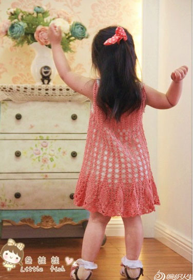 lace-crochet-pineapple-girls-dress-1