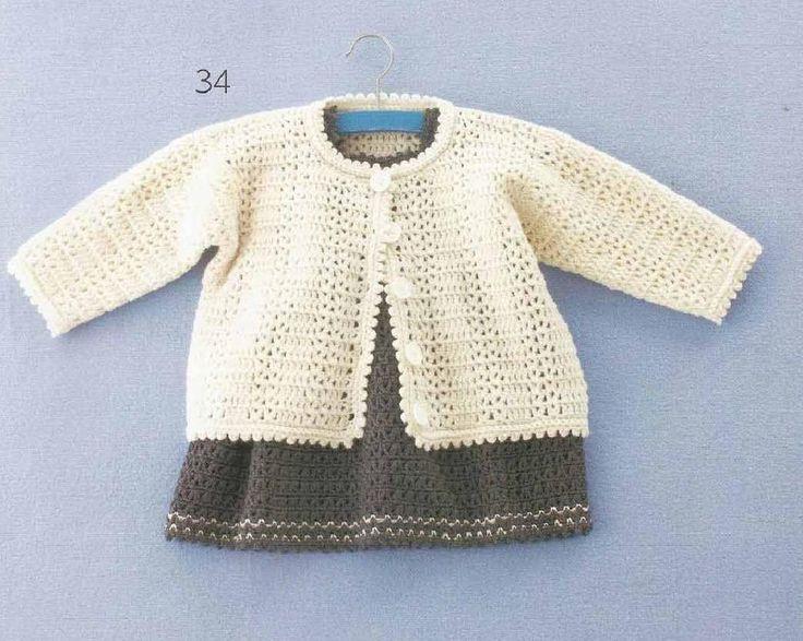 little crochet jacket