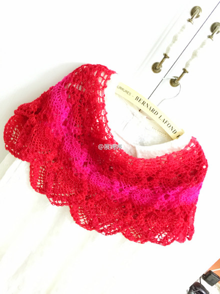ombre pineapple shawl crochet 1