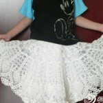 Pineapple skirt for girls crochet