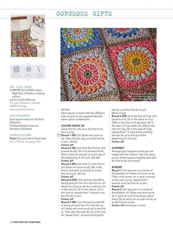 Milla Magic Square ⋆ Crochet Kingdom