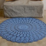 Big crochet doily rug pattern
