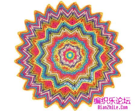 circle ripple crochet stitch