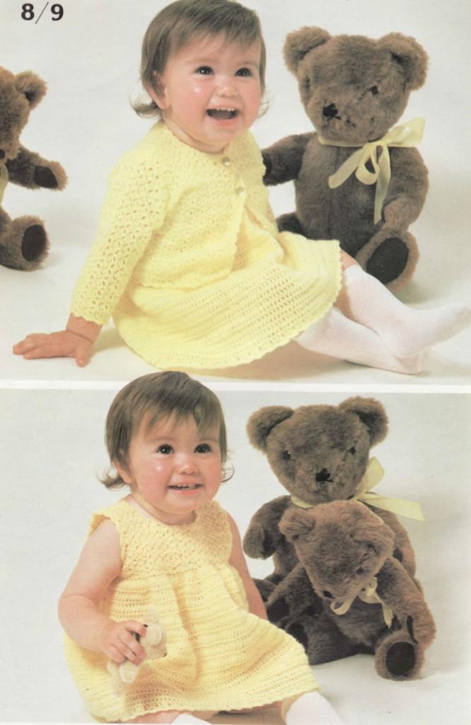 crochet-dress-and-jacket-baby-pattern