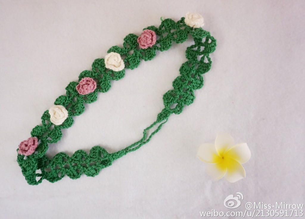 Crochet Headband With Flowers Crochet Kingdom