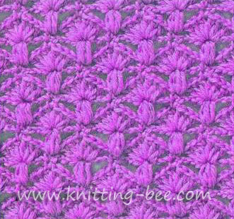 diamond-fans-free-crochet-stitch