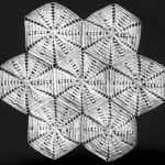 Octagon Pattern Bedspread