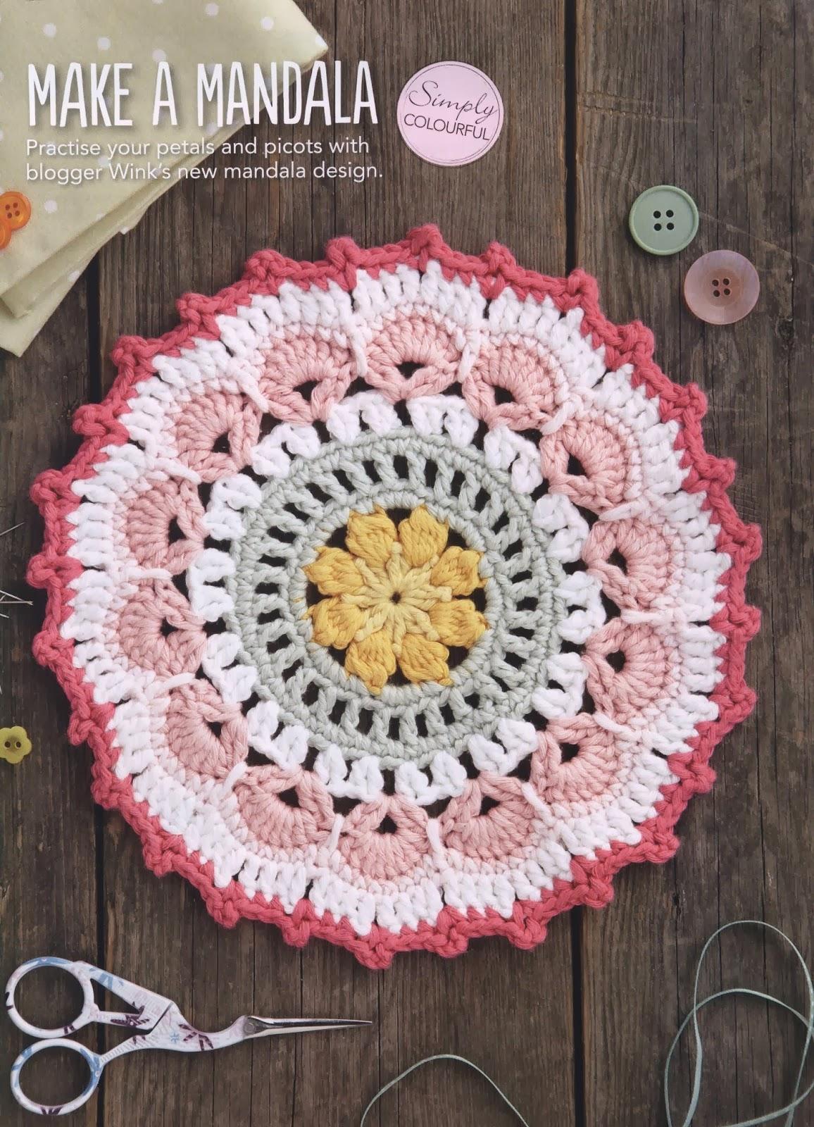Petals And Picot Mandala  U22c6 Crochet Kingdom