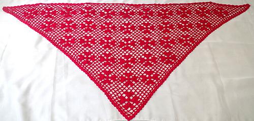Clover Heart Shawl - Free Crochet