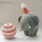 Gustav, the balancing elephant