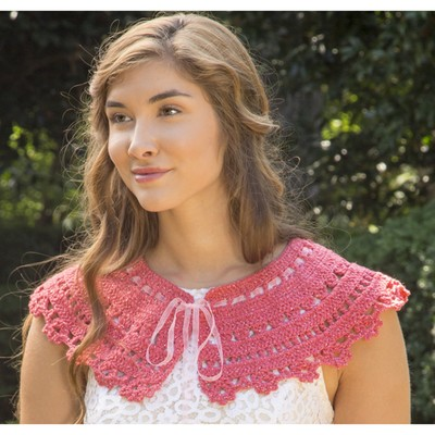 Premier Yarns Coral Shine Collar Free Crochet Pattern