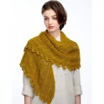 Slice of Nice Shawl - Free Crochet Pattern
