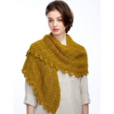 Slice of Nice Shawl - Free Crochet Pattern