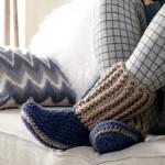 Free Slipper Socks to Crochet