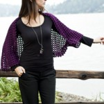 Venezia Worsted Lace Shoulderette Free Crochet Pattern