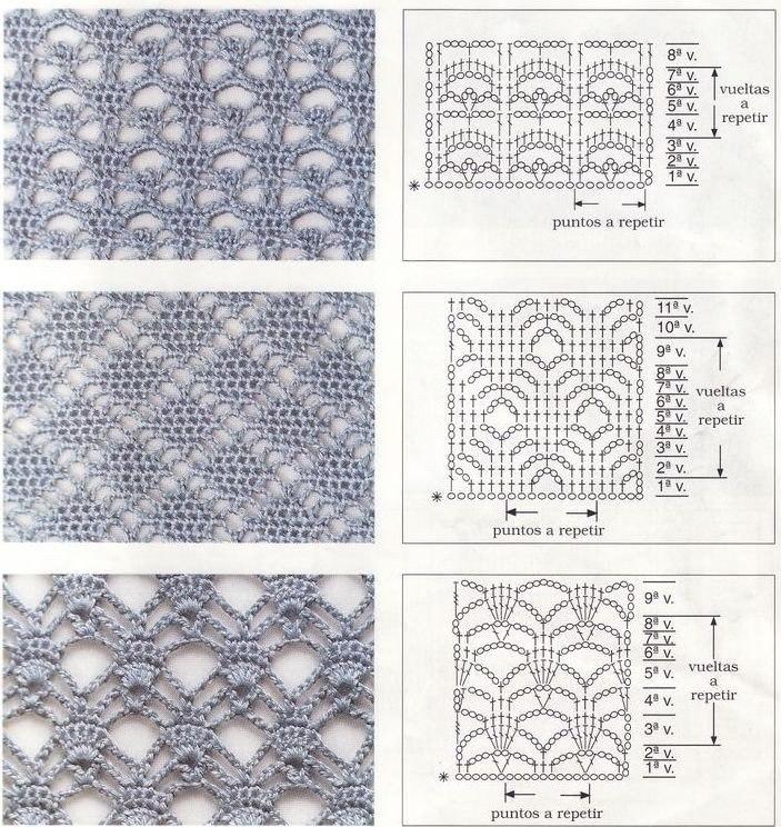 Diamond crochet stitches crochet kingdom
