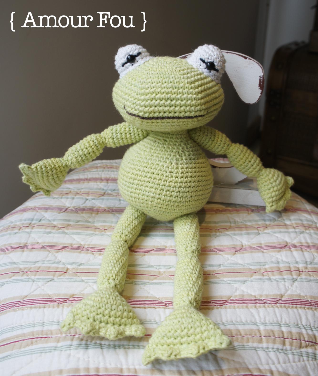 Frog Amigurumi Pattern ⋆ Crochet Kingdom