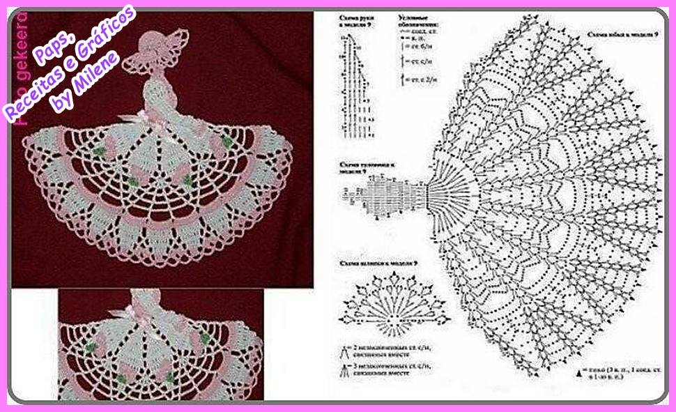 Lady Crochet Motifs ⋆ Crochet Kingdom