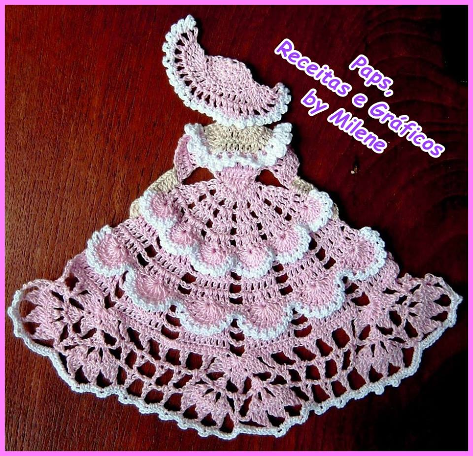 Crochet Patterns For Motifs : Lady crochet motifs ? Crochet Kingdom