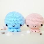 Mini octopus amigurumi crochet pattern