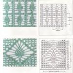 2 Pineapple Motif Crochet Stitch