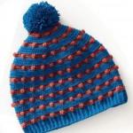 Pom Pom Crochet Hat Pattern