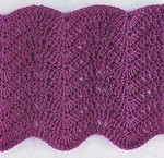 Ripple Stitch Crochet Diagram