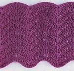 Ripple Stitch Crochet Diagram