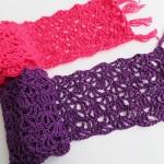 Alana Lacy Scarf, Free Crochet Pattern