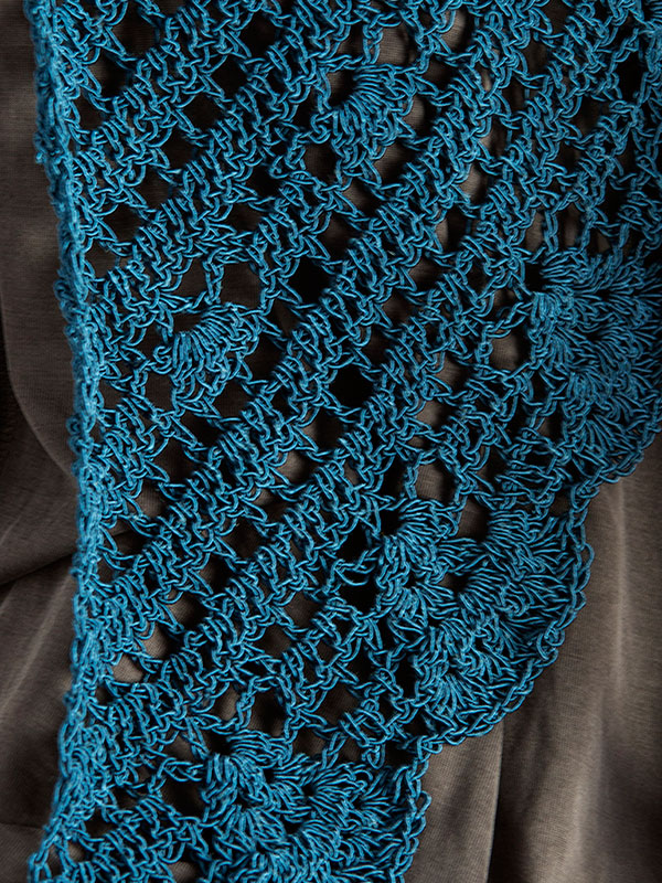 Crochet Beginner Shawl Pattern : Antigone Crochet Shawl Free Pattern ? Crochet Kingdom