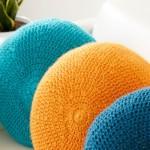 Caron Full Circle Pillow Free Crochet Pattern