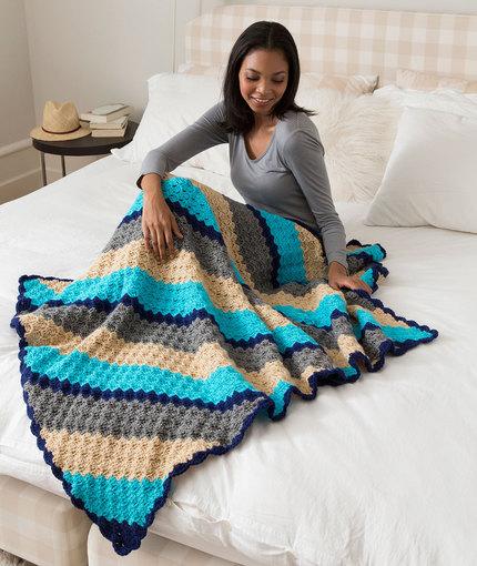 4 Corner To Corner Crochet Blanket Patterns ⋆ Crochet Kingdom