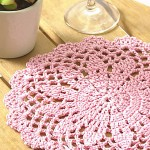 Flower-patterned Doily