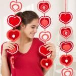 Heart Strings Garland Free Crochet Pattern