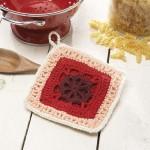 Katie Pot Holder Free Crochet Pattern