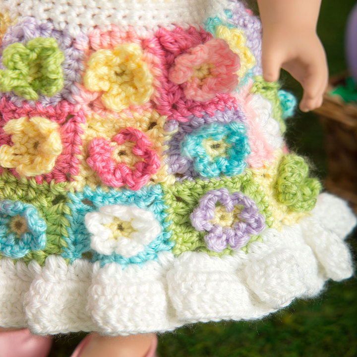 My Doll's Easter Frock 1