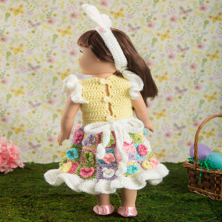 My Doll's Easter Frock 2