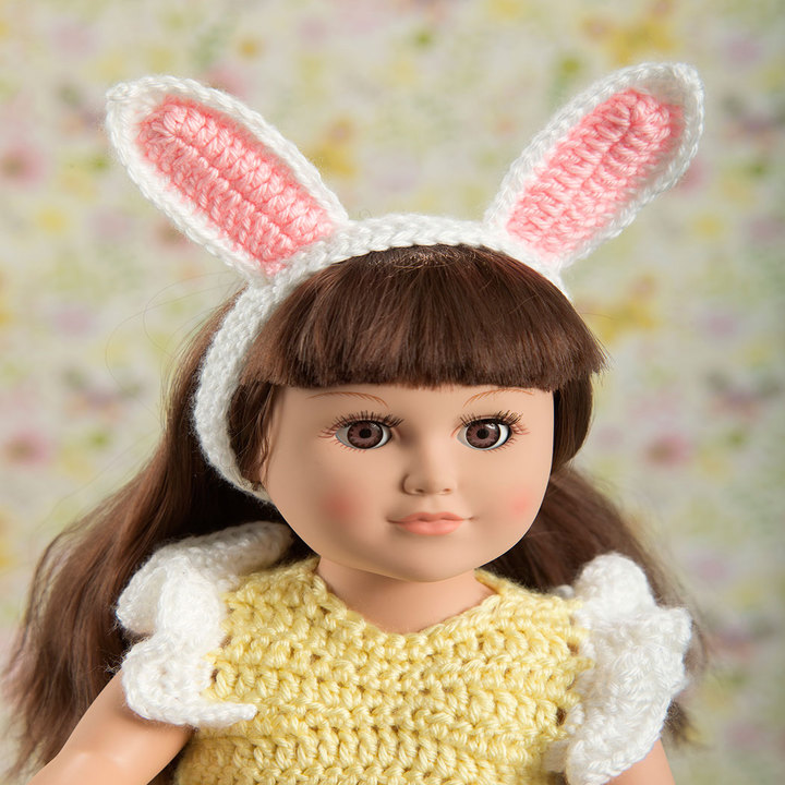 My Doll's Easter Frock 3